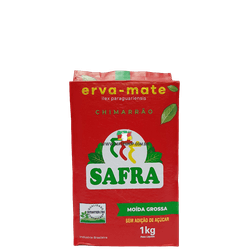 Erva-Mate Safra Moída Grossa a Vácuo 1Kg - Mate Shop