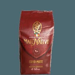 Erva-Mate Mate Nativo Moída Grossa + Folhas 1Kg - Mate Shop