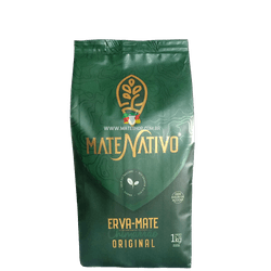 Erva-Mate Mate Nativo Original 1Kg - Mate Shop