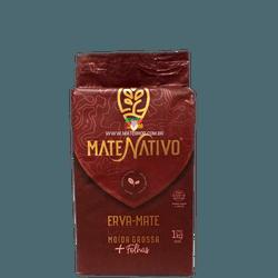 Erva-Mate Mate Nativo Moída Grossa + Folhas a Vácu... - Mate Shop