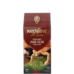 Erva-Mate Mate Nativo Pura Folha 250g - Mate Shop