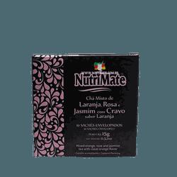 Chá de Laranja Rosa e Jasmim com Cravo - Mate Shop