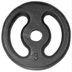 Anilha Pintada 3 Kg - 570-3 - MOLD MAC FITNESS