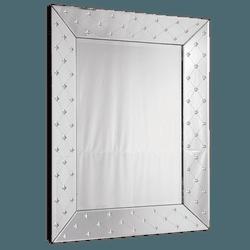 Espelho Estrela - Moldura Trabalhada - 15 - MOVEIS ANTIGUS