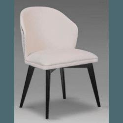 Cadeira Isabela Com Tachas - 1214 - MOVEIS ANTIGUS