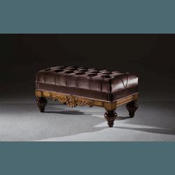 Puff em Madeira Linha Luxo - 6270 - MOVEIS ANTIGUS