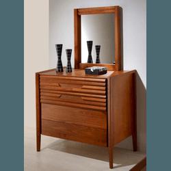 Cômoda 4 Gavetas Com Espelho - Linha Nuance - 9005 - MOVEIS ANTIGUS