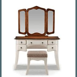 Penteadeira Três Espelhos Com Banqueta - 3500 - MOVEIS ANTIGUS