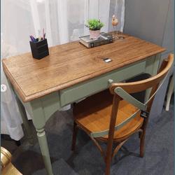 Escrivaninha + Cadeira - Tafona - 645-555 - MOVEIS ANTIGUS