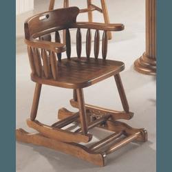 Cadeira De Balanço Country Assento Ripado Imbuia -... - MOVEIS ANTIGUS