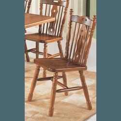 Cadeira Country Assento Ripado Imbuia - 097 - MOVEIS ANTIGUS