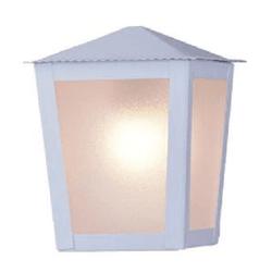 Arandela Colonial Quadrada Branco Ideal Iluminação... - Nicolucci