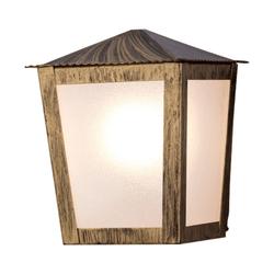 Arandela Colonial Quadrada Ouro Velho Ideal Ilumin... - Nicolucci