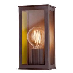 Arandela Vintage Marrom Vidro Espelhado 1XE27 Idea - Nicolucci