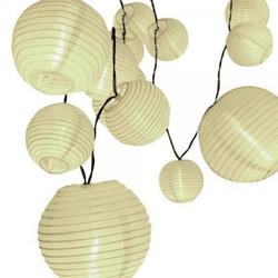 Cordão de Luz com Bolinhas de Papel 3000K 1,5W 127... - Nicolucci