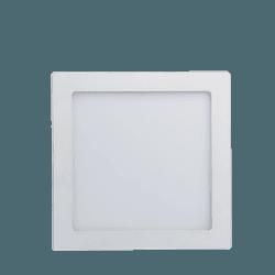 Luminária Plafon Quadrado 18W 6500K Sobrepor LedBe... - Nicolucci