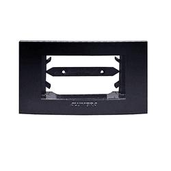 Placa 1 Módulo Horizontal Black Piano Inova Pro - ... - Nicolucci