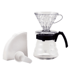 Kit V60 para Café - Craft com 40 filtros - NOSTRO SOLO