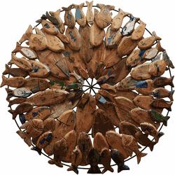 Painel Mandala de Peixes - 2010000005941 - OFICINADEAGOSTO