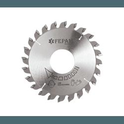Disco de Serra Circular Riscador 110 mm X 24 Dentes 3,1-4,2/2,5 F45 Fepam - Outlet do Marceneiro