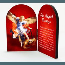 Adorno de mesa - São Miguel Arcanjo - CA.29 - PALUDO ARTIGOS CATÓLICOS