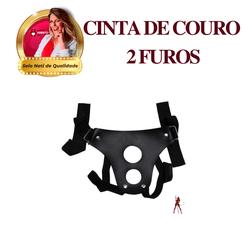 Cinta De Couro Com 2 Furos - 165156 - PAPOABERTORP