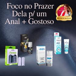 KIT ANAL GOSTOSO | Capa de Dedo Estimuladora + Des... - PAPOABERTORP
