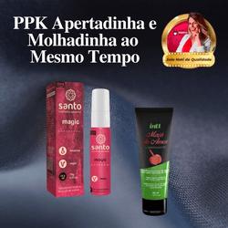 KIT PPK APERTADINHA | Adstringente Magic + Lubrifi... - PAPOABERTORP