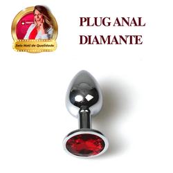 Plug Anal Diamante - 47 - PAPOABERTORP