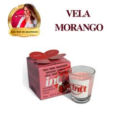 Vela Sabor Morango Óleo Para Massagem Beijável - 2... - PAPOABERTORP