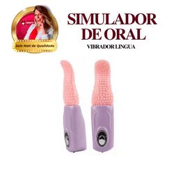 Vibrador língua - imita / simula o sexo oral - 425... - PAPOABERTORP