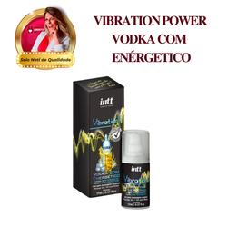 Vibrador Líquido - VIBRATION POWER VODKA COM ENERG... - PAPOABERTORP