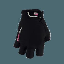 Luva Pro Hand Dragon Dedo Curto Preto e Rosa - 360... - PEDAL PRÓ Bike Shop