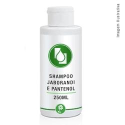 Shampoo Jaborandi com Pantenol 250ml - Seiva Manipulação | Produtos Naturais e Medicamentos