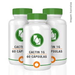 Cactin 1000mg 60cápsulas Combo 3 meses (3 potes co... - Seiva Manipulação   Produtos Naturais e Medicamentos