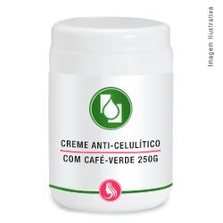 Creme anti-celulite café-verde 250g - Seiva Manipulação | Produtos Naturais e Medicamentos
