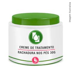 Creme Tratamento Rachadura Pés 30g - Seiva Manipulação | Produtos Naturais e Medicamentos
