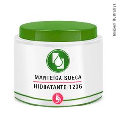 Manteiga Sueca Hidratante 120g - Seiva Manipulação | Produtos Naturais e Medicamentos