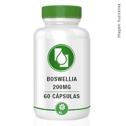 Boswellia Serrata 200mg Ext seco 60cápsulas - Seiva Manipulação | Produtos Naturais e Medicamentos