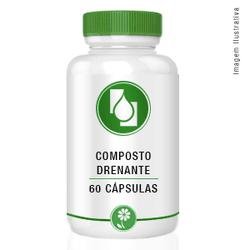 Composto Drenante 60cápsulas - Seiva Manipulação   Produtos Naturais e Medicamentos
