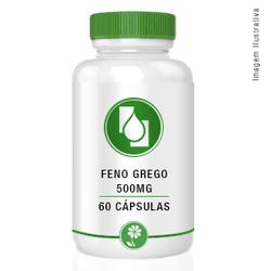 Feno Grego 500mg 60 cápsulas - Seiva Manipulação | Produtos Naturais e Medicamentos