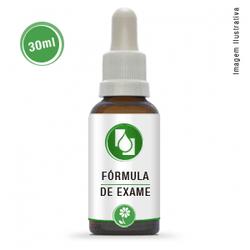Fórmula de Exame 30ml - Seiva Manipulação | Produtos Naturais e Medicamentos