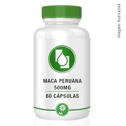 Maca peruana 500mg 60cápsulas - Seiva Manipulação   Produtos Naturais e Medicamentos