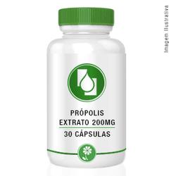 Própolis Extrato Seco 200mg 30cápsulas - Seiva Manipulação | Produtos Naturais e Medicamentos