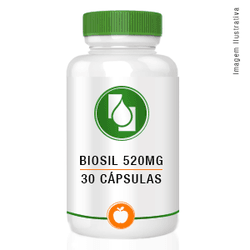 Biosil™ 520mg 30cápsulas - Seiva Manipulação | Produtos Naturais e Medicamentos