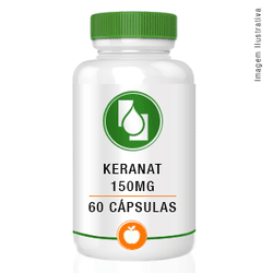Keranat™ 150mg 60cápsulas - Seiva Manipulação | Produtos Naturais e Medicamentos