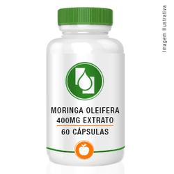 Moringa oleifera extrato 400mg 60cápsulas - Seiva Manipulação | Produtos Naturais e Medicamentos