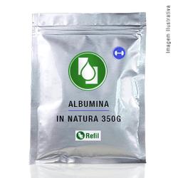 Albumina In Natura 350g Refil - Seiva Manipulação | Produtos Naturais e Medicamentos