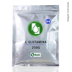 L Glutamina 250g Refil - Seiva Manipulação | Produtos Naturais e Medicamentos