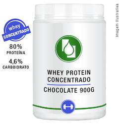 Whey Protein Concentrado 80% Chocolate 900g - Seiva Manipulação | Produtos Naturais e Medicamentos